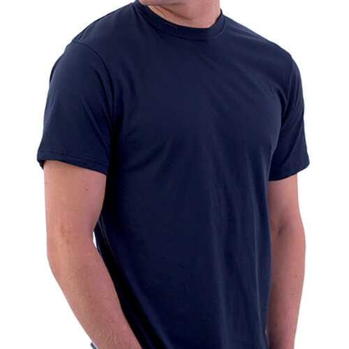 Navy Blue Men T-Shirt