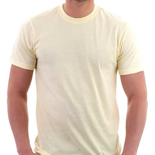 Yellow Men T-Shirt