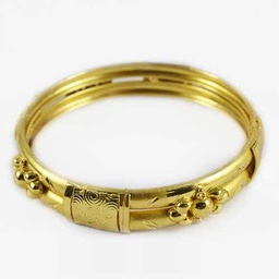 [WK-MP-SEL1-BANGLE2] Gold Plated Bangle2